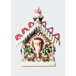 "SWEET SAVANNAH-One-of-a-Kind ""Gingerbread"" House-Tiny"